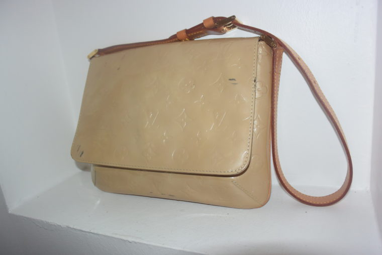 Louis Vuitton Thompson Street Vernis Leder beige -6537