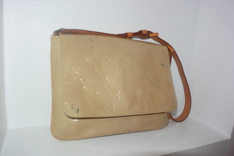 Louis Vuitton Thompson Street Vernis Leder beige -6535