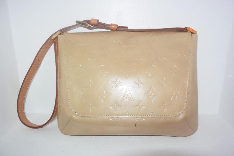 Louis Vuitton Thompson Street Vernis Leder beige -6544