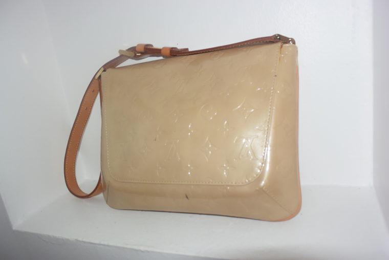 Louis Vuitton Thompson Street Vernis Leder beige -6539