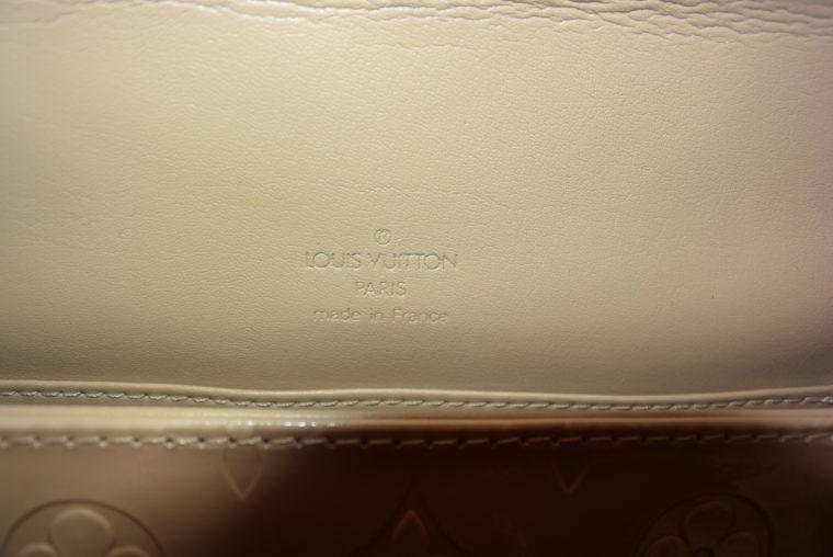 Louis Vuitton Thompson Street Vernis Leder beige -6541