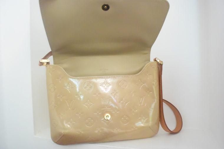 Louis Vuitton Thompson Street Vernis Leder beige -6546