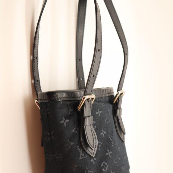 Louis Vuitton Mini Bucket Tasche Satin