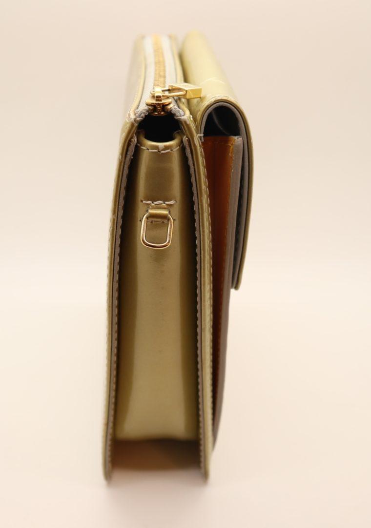 Louis Vuitton Tasche Mott Vernis Leder türkis-14195