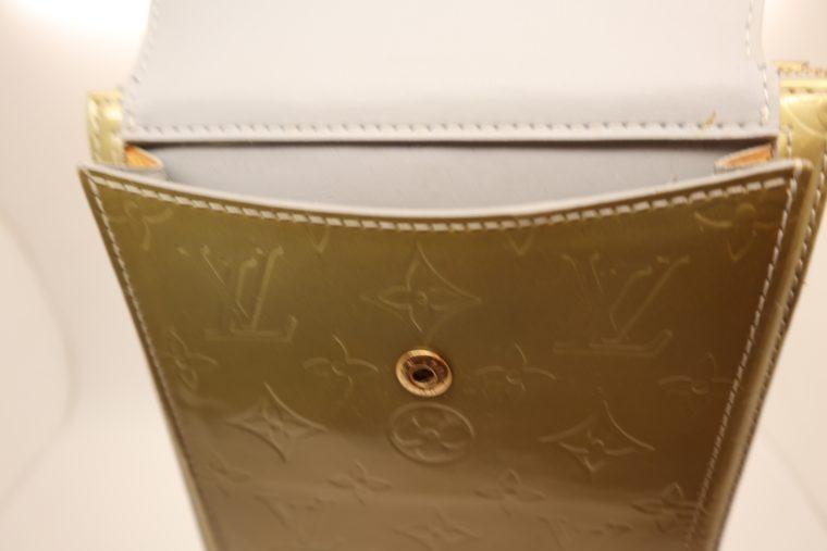 Louis Vuitton Tasche Mott Vernis Leder türkis-14200