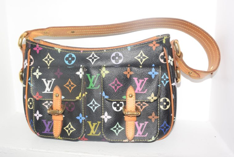 Louis Vuitton Tasche Lodge Multicolor schwarz-10591