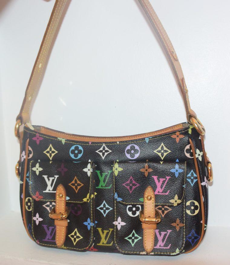 Louis Vuitton Tasche Lodge Multicolor schwarz-10597
