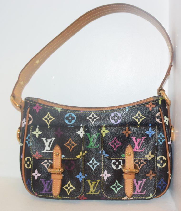 Louis Vuitton Tasche Lodge Multicolor schwarz-10595