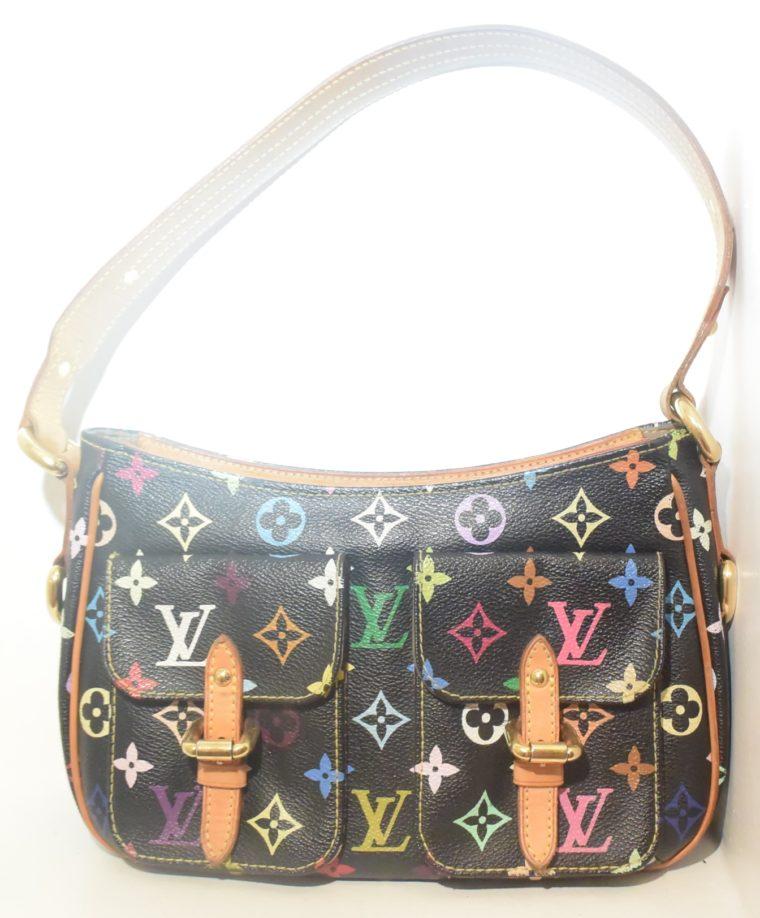 Louis Vuitton Tasche Lodge Multicolor schwarz-10593