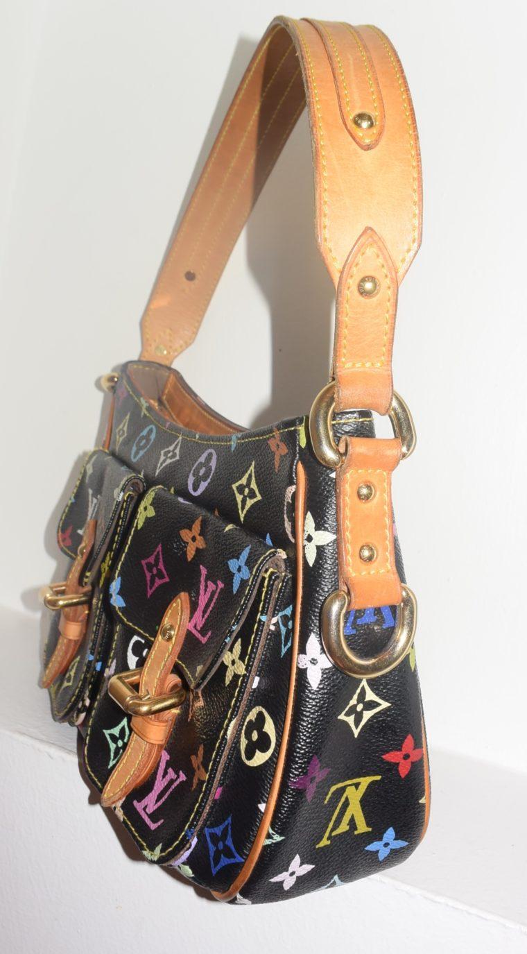 Louis Vuitton Tasche Lodge Multicolor schwarz-10596