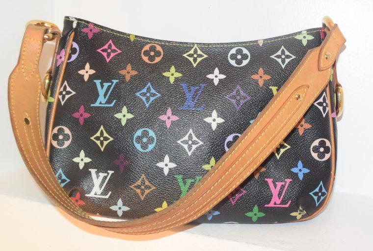 Louis Vuitton Tasche Lodge Multicolor schwarz-10600