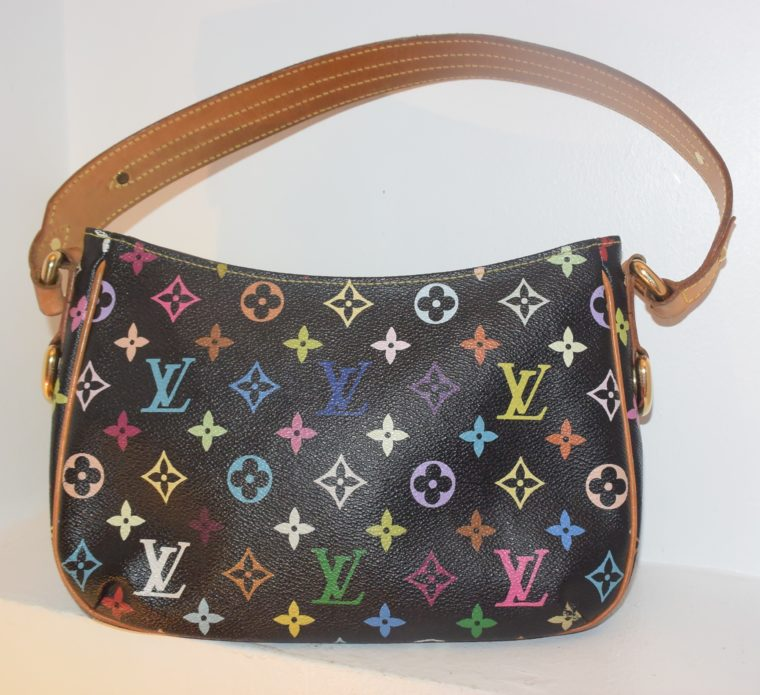 Louis Vuitton Tasche Lodge Multicolor schwarz-10601