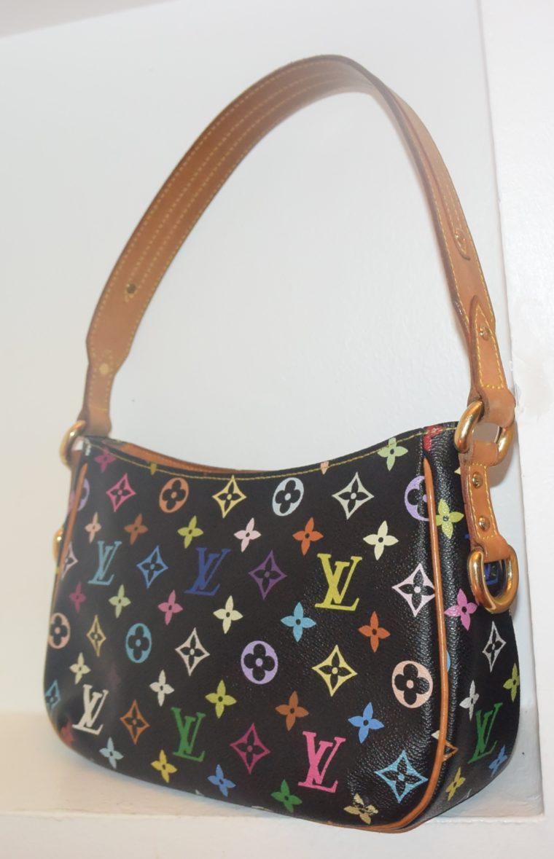 Louis Vuitton Tasche Lodge Multicolor schwarz-10599