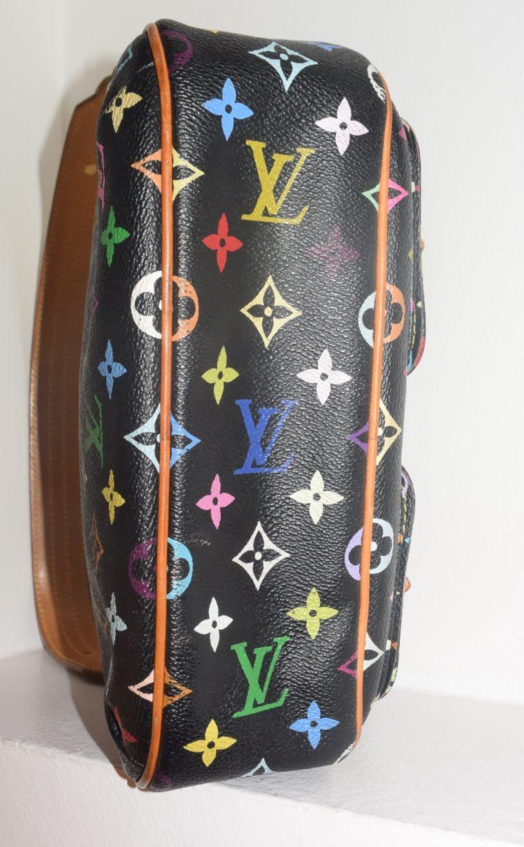 Louis Vuitton Tasche Lodge Multicolor schwarz-10604