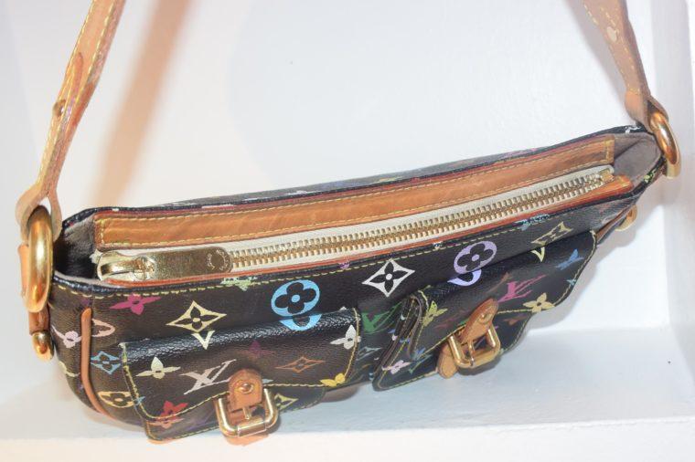 Louis Vuitton Tasche Lodge Multicolor schwarz-10607