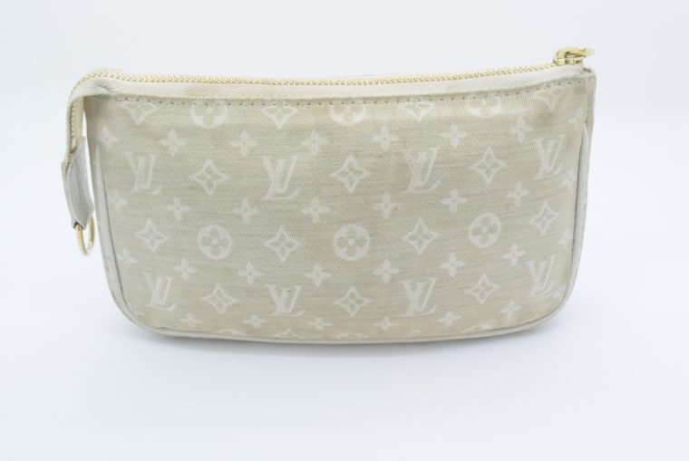Louis Vuitton Pochette Mini Lin dune Tasche -0