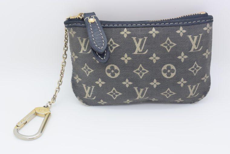 Louis Vuitton Schlüsseletui Idyll Stoff-0