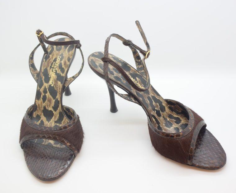 Dolce & Gabbana D&G Pumps Phytonleder 38-11550