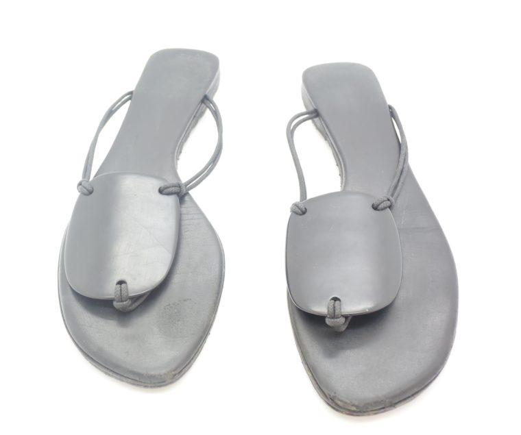 Hermès Sandalen schwarz 38-0