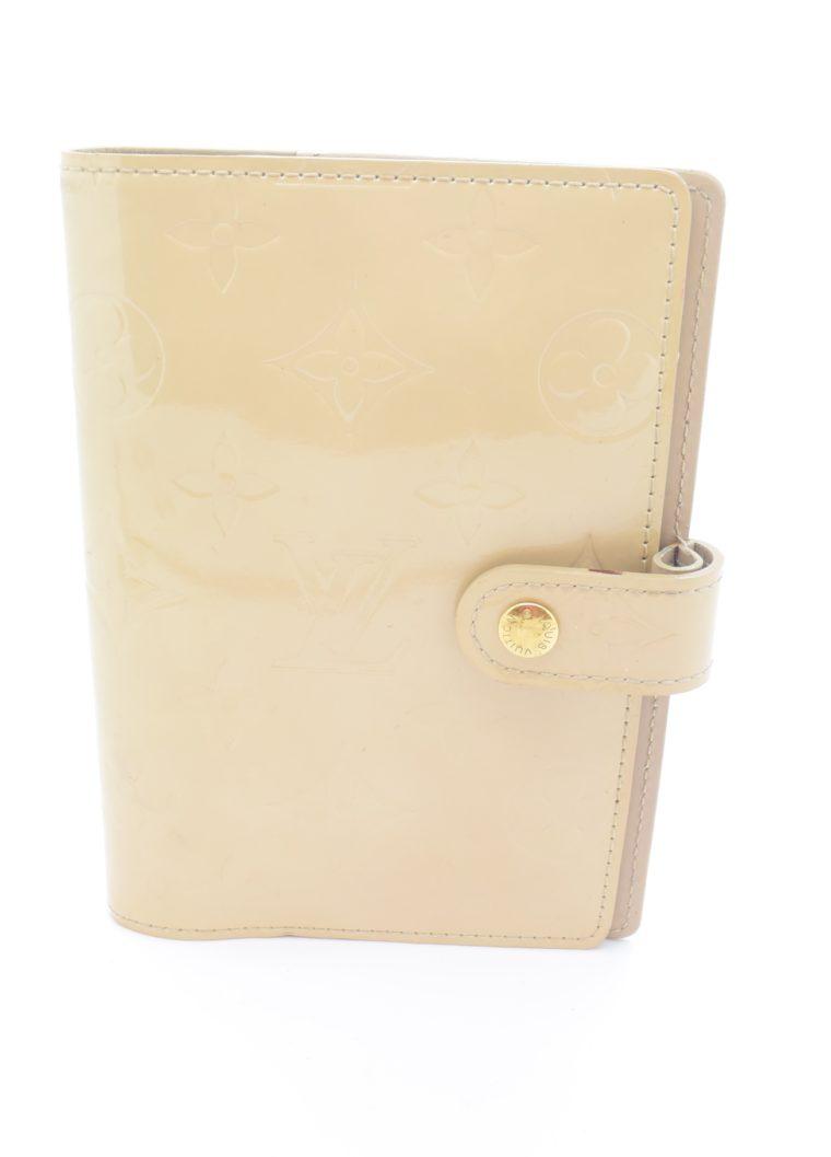 Louis Vuitton Kalender PM Vernisleder beige-11693