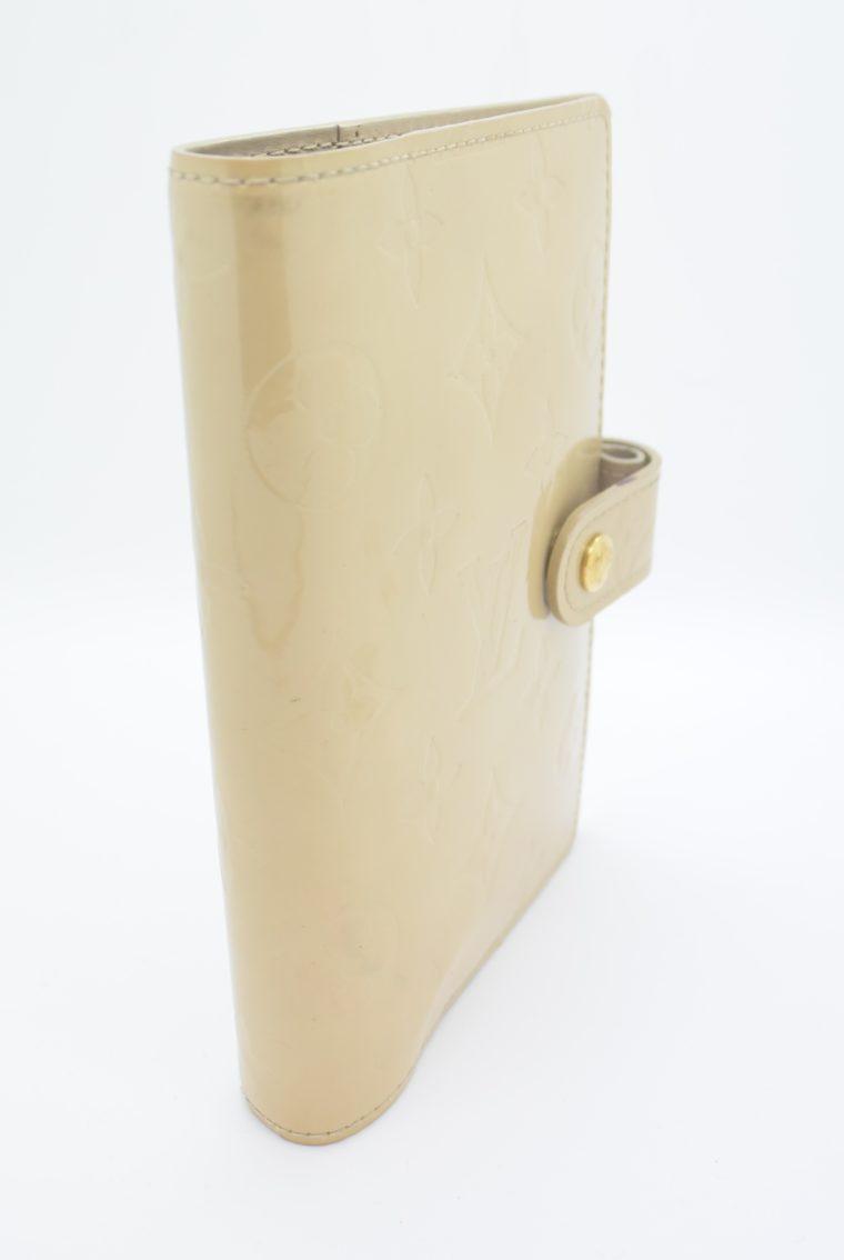 Louis Vuitton Kalender PM Vernisleder beige-11695