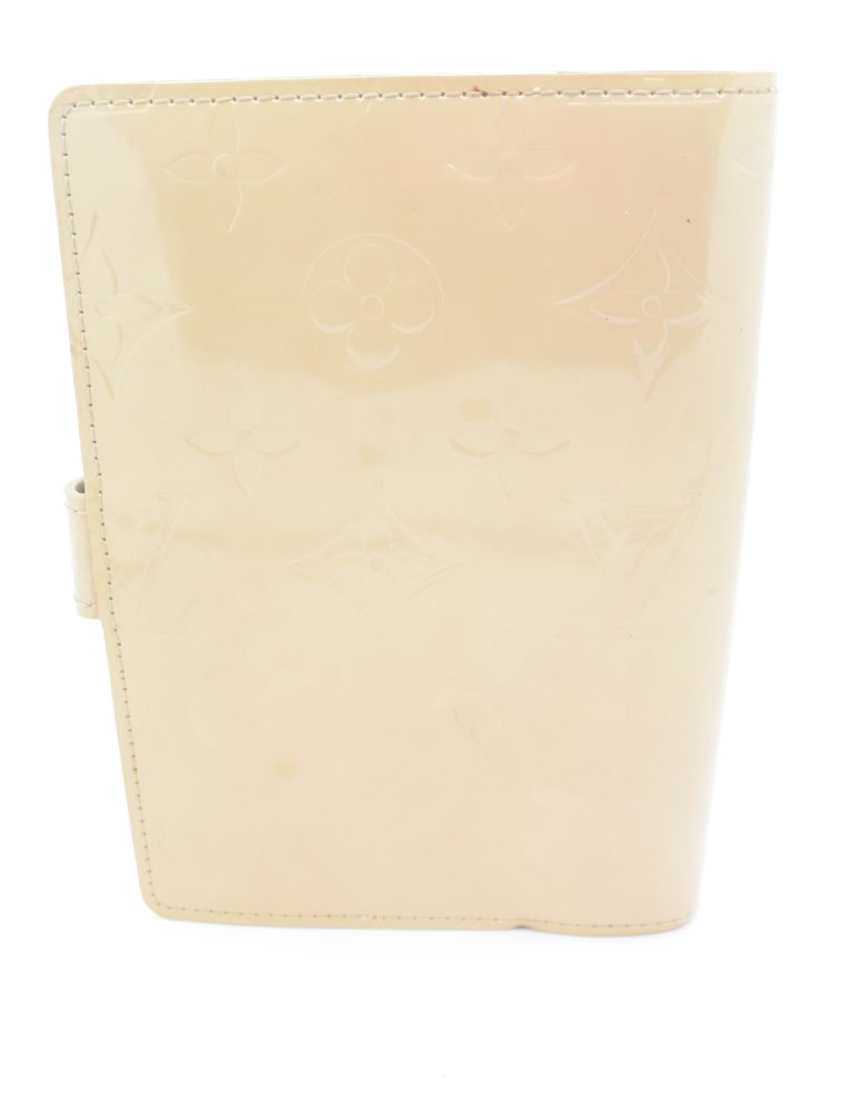 Louis Vuitton Kalender PM Vernisleder beige-11694