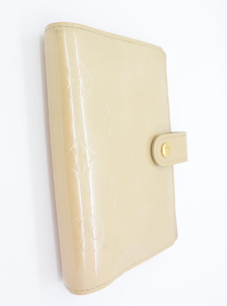 Louis Vuitton Kalender PM Vernisleder beige-11696