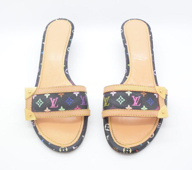 Louis Vuitton Schuhe Sandale Multicolor schwarz-11723