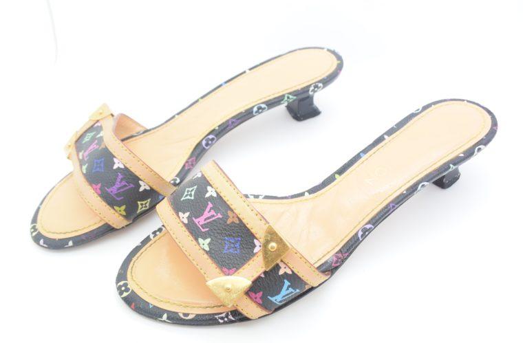 Louis Vuitton Schuhe Sandale Multicolor schwarz-11725