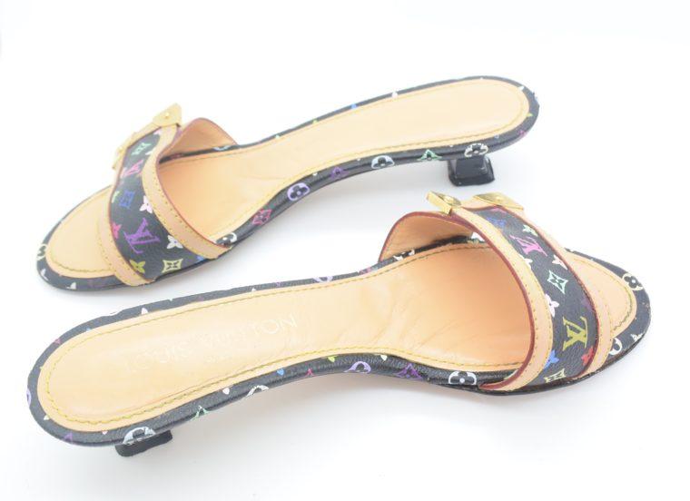 Louis Vuitton Schuhe Sandale Multicolor schwarz-11727