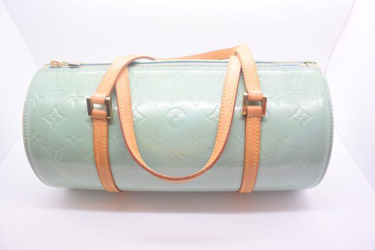 Louis Vuitton Tasche Bedford türkis Vernis Leder -12844
