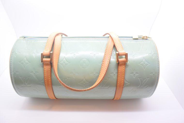 Louis Vuitton Tasche Bedford türkis Vernis Leder -12849