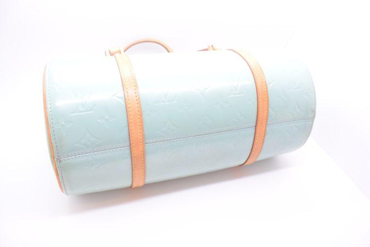 Louis Vuitton Tasche Bedford türkis Vernis Leder -12850