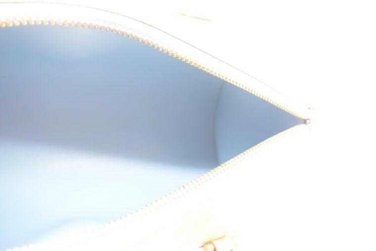 Louis Vuitton Tasche Bedford türkis Vernis Leder -12851