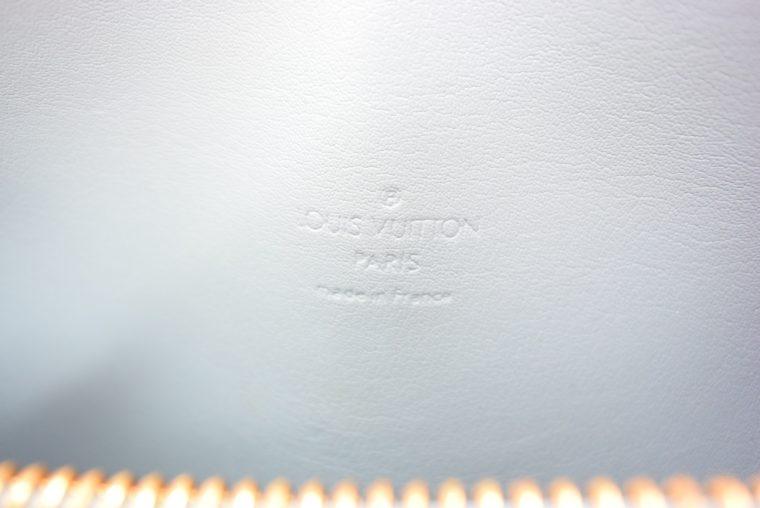 Louis Vuitton Tasche Bedford türkis Vernis Leder -12857