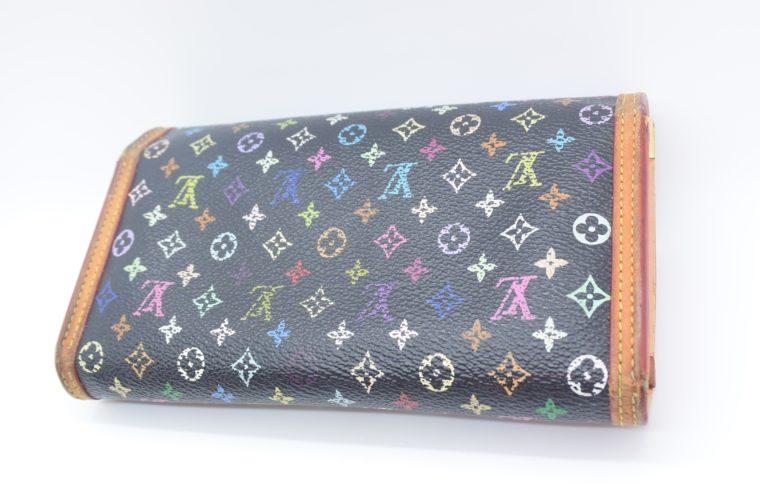 Louis Vuitton Geldbörse international Multicolor schwarz-12875