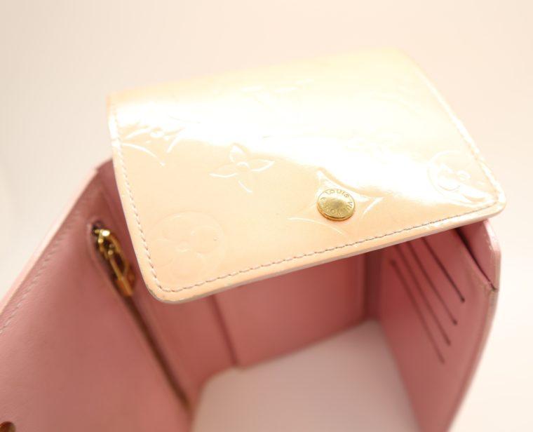 Louis Vuitton Geldbörse Tasche Walker Clutch rosa Vernisleder-13732