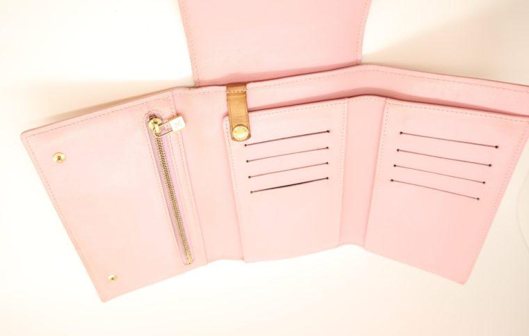 Louis Vuitton Geldbörse Tasche Walker Clutch rosa Vernisleder-13733