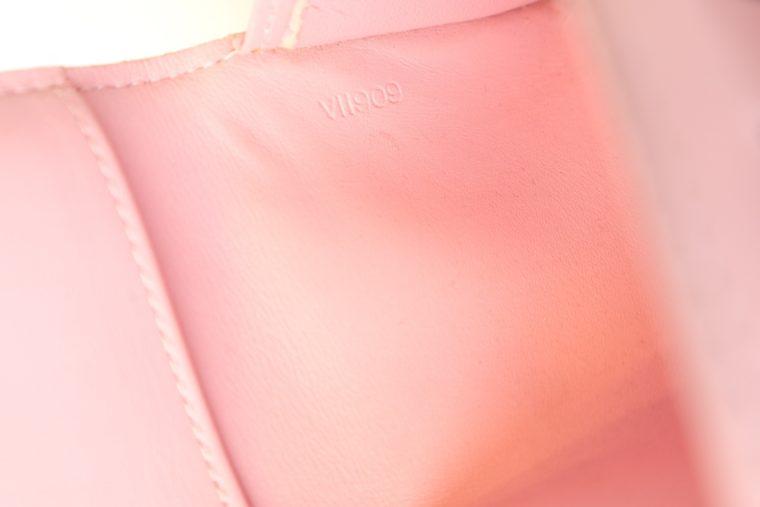 Louis Vuitton Geldbörse Tasche Walker Clutch rosa Vernisleder-13736