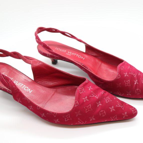 Louis Vuitton Pumps Satin pink 38