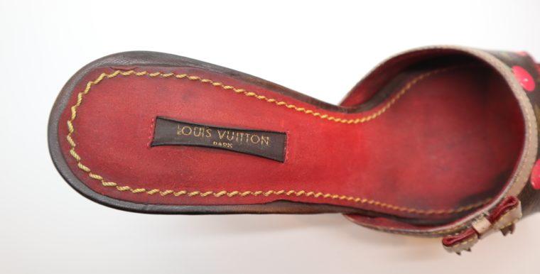 Louis Vuitton Pumps Monogrsm Cerise 37 -14332
