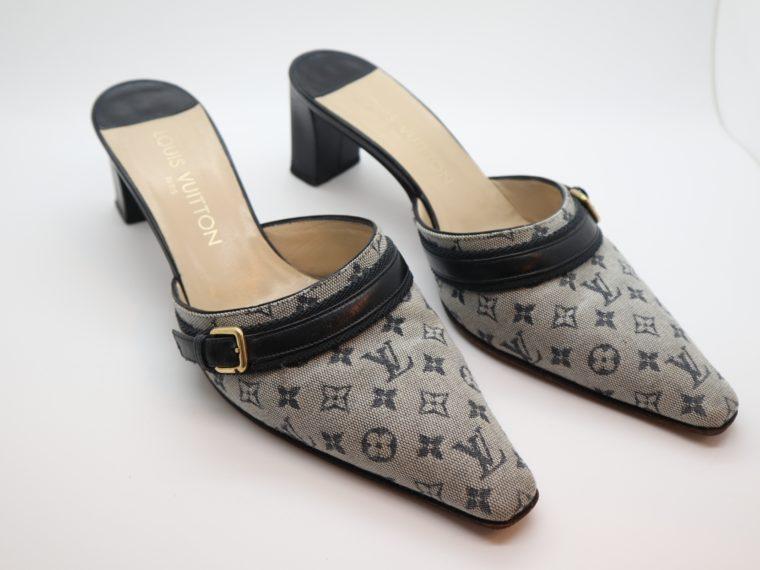 Louis Vuitton Pumps Min Lin grau 36 1/2 -14337