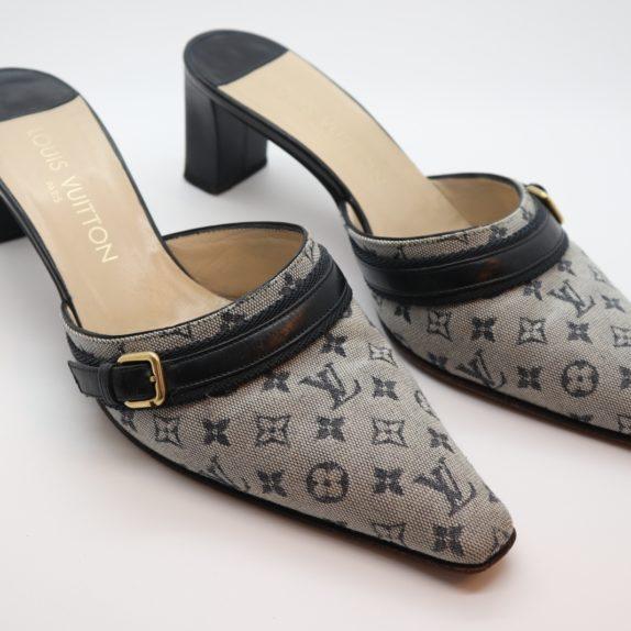 Louis Vuitton Pumps Min Lin grau 36 1/2