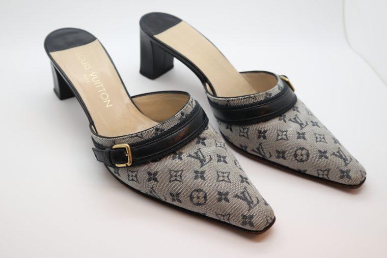 Louis Vuitton Pumps Min Lin grau 36 1/2 -0