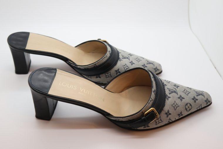 Louis Vuitton Pumps Min Lin grau 36 1/2 -14335