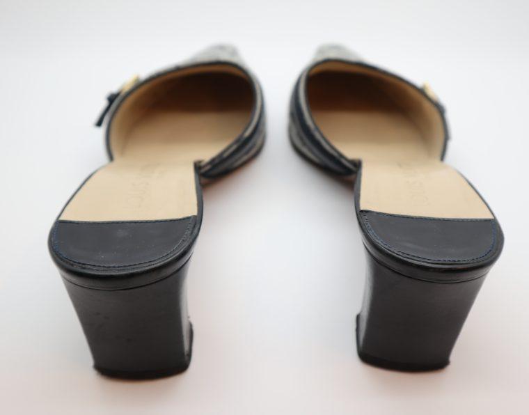 Louis Vuitton Pumps Min Lin grau 36 1/2 -14338