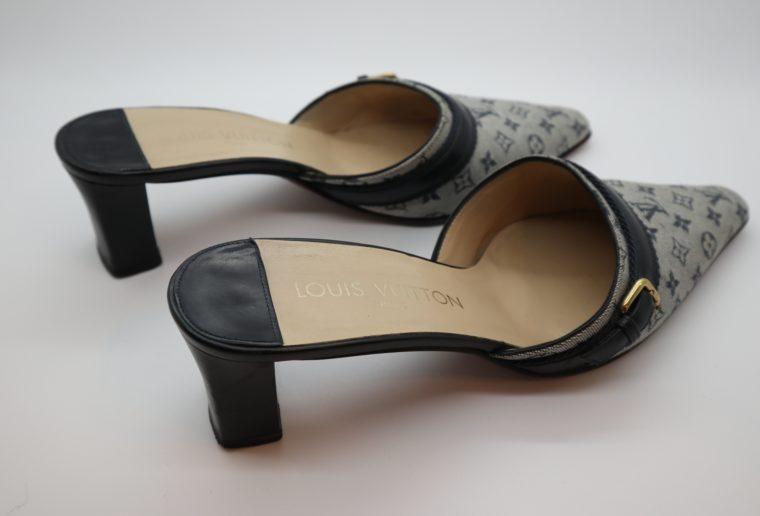 Louis Vuitton Pumps Min Lin grau 40 1/2-14341