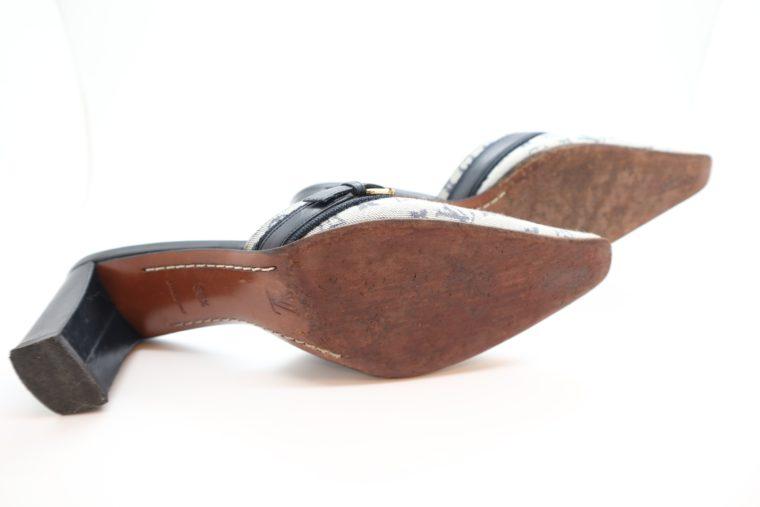 Louis Vuitton Pumps Min Lin grau 40 1/2-14342