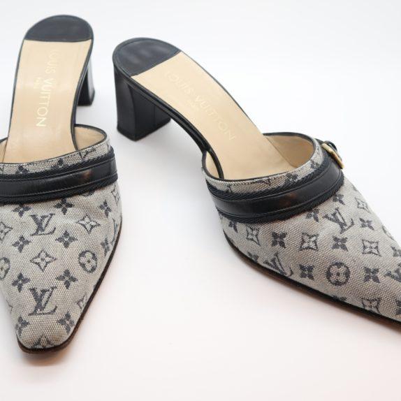 Louis Vuitton Pumps Min Lin grau 40 1/2