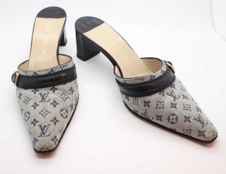 Louis Vuitton Pumps Min Lin grau 40 1/2-0